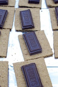 Graham Crackers and Chocolate
