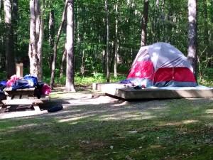 Coleman Flatwood II Tent